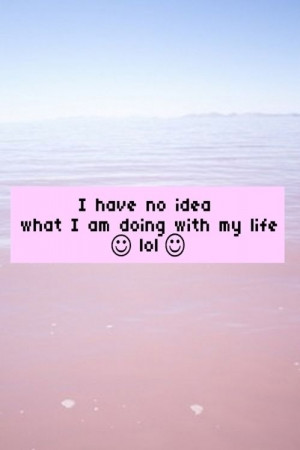 Grunge Tumblr Quotes Grunge, pastel, quote, life