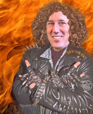 ... quotes from rick santorum and quotes from dave mustaine of megadeth