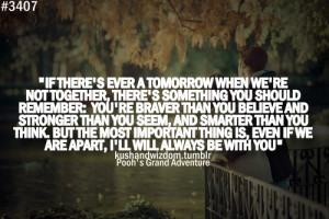 ... com/if-there-ever-tomorrow-when-were-not-together-inspirational-quote