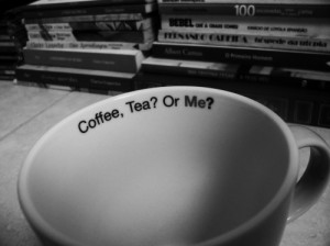 coffee, cup, quote, tea