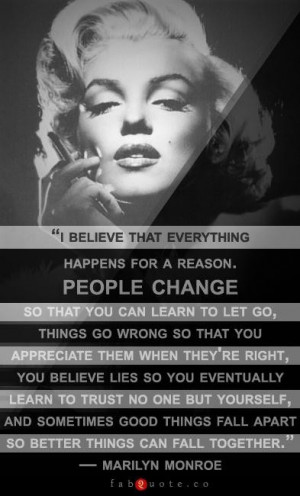 Marilyn Monroe Quotes I Believe Form Long Hair Names Medium Length For ...