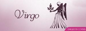 Zodiac Facebook Covers: Virgo Symbol