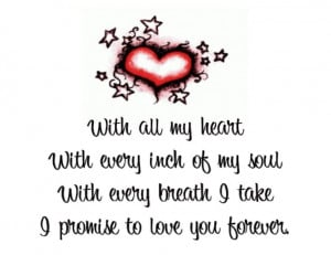 Our Love Is Forever Quotes