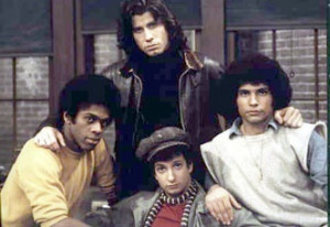 The Sweat Hogs from Welcome Back, Kotter (clockwise from the top ...