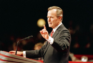 Kennedys honor George H.W. Bush's 'read my lips' flip-flop with ...
