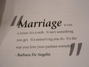 ... today I thought I'd share a few inspirational quotes about marriage