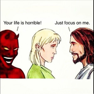 The devil is a liar.