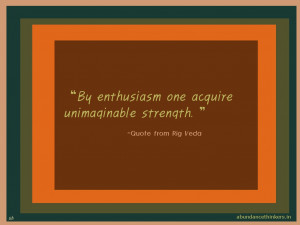 Rig Veda Speaks Of Daily Life Quotes