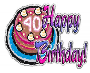 happy 40th birthday clipart | Free Reference Images