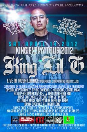 King Lil G Concert