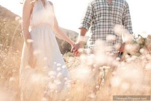 Holding, hand, couple, cute, lovers, flowers