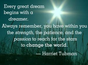 Harriet Tubman quote