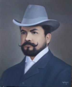 Ruben Dario Óleo Lienzo Paisaje