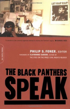 """Start by marking """"The Black Panthers Speak"""" as Want to Read:"""