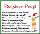 homemade christmas gag gifts reindeer poops