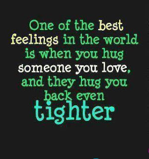 One of the best feeling in the world !