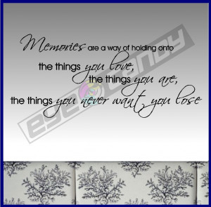 of holding Onto the Things You Love, the Things You Are, the Things ...