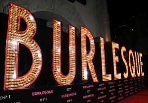 BURLESQUE Premiere Celebrity Images