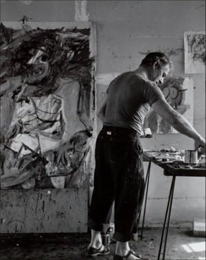 Willem de kooning: East Hampton, Artiststudio, Artists Studio, Happy ...