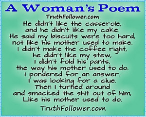 Woman's Poem, Quotes About Women