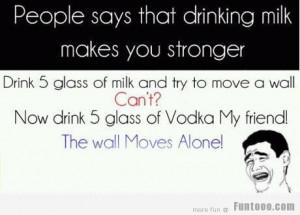 Funny Vodka Pic