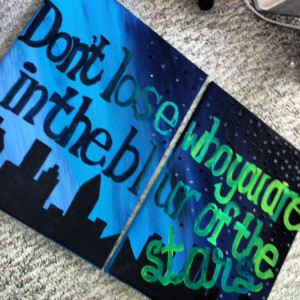painting quotes – two canvas quote painting by customizedbycristina ...
