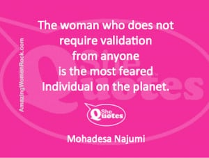 Follow #SheQuotes on Twitter