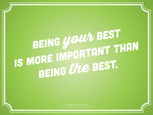 LDS quote. Be your best.