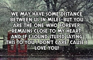 Distance Between Us Quotes