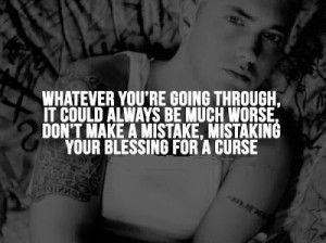 Whatever you're going through