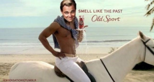 Old Spice Commercial + Gatsby}, Dead.