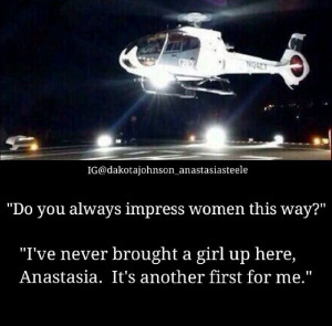 Charlie Tango Fifty Shades of Grey - Christian Grey quote