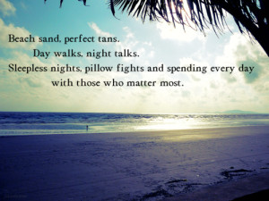 summer, quotes, sayings, beach, cute quote, pics | Favimages.