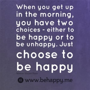 Get Happy, Be Happy, Stay Happy!