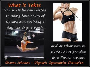 Gymnastics Quotes By Shawn Johnson Shawn johnson olympic gymnast photo ...