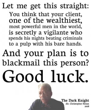 The dark knight quotes