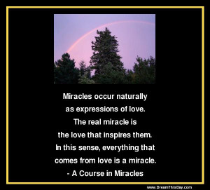 Course In Miracles Quotes and Sayings