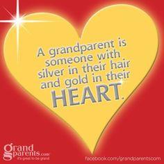grandparents #quote #silver #gold #heart #life #grandchildren More