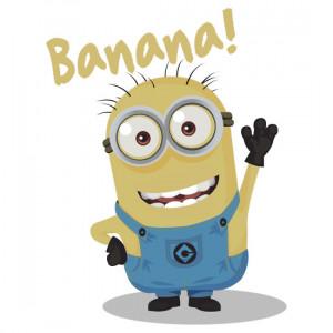 Minion Saying Banana Buy the banana minion