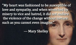 For more information about Mary Shelley: http://www.Dailyliteraryquote ...