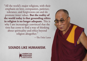 "... that the Dalai Lama's thinking ""has aligned with [Sam] Harris"