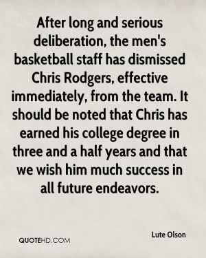 Long Basketball Quotes