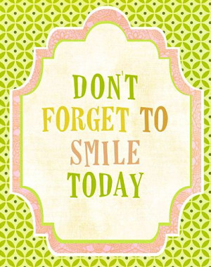 smile everyday. like your life depends on it. because you never know ...