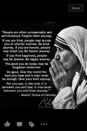 Forgive anyway...one of my very favorite woman and quote of all times.