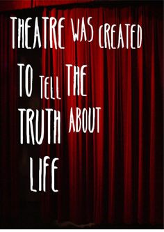 Theatre Quotes