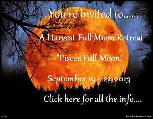 Harvest Moon Event September 19 -22 ,2013