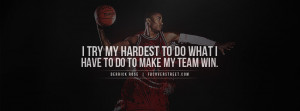 derrick rose quotes about basketball