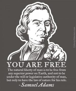 Natural Liberty | Samuel Adams