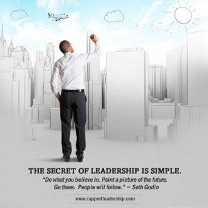 Seth Godin the secret to leadership is