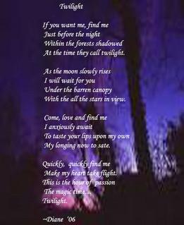 Love Poem From Twilight Movie